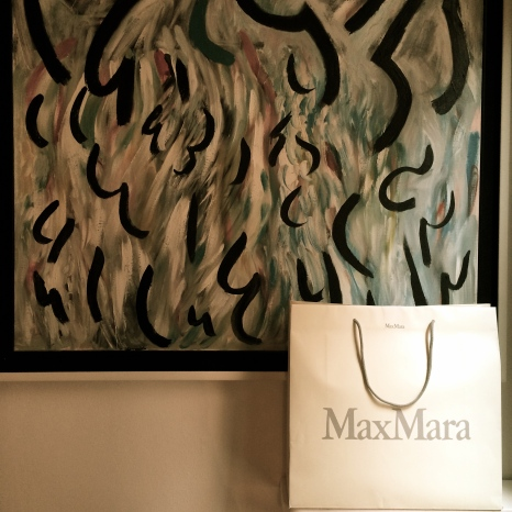 My MaxMara haul and artwork in our apartment